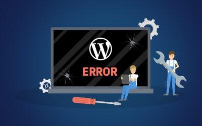 6 podstawowych błędów popełnianych przez właścicieli stron internetowych WordPress
